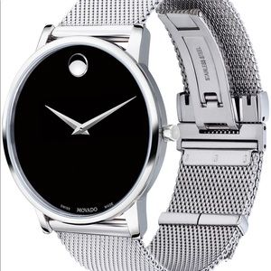 Movado Museum Stainless Mens Watch 40mm